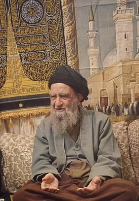 تصویر نظر آیة الله سید محمدمهدی خرسان در رابطه با صحیفه سجادیه
