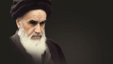 تصویر صحیفه سجادیه و آیة الله خمینی